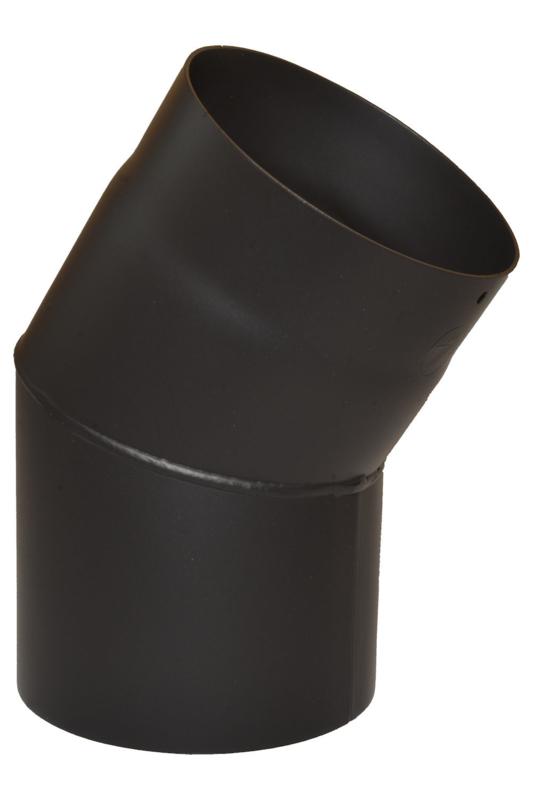 Bogen 33° Ø 160 - 2 mm Stahl schwarz
