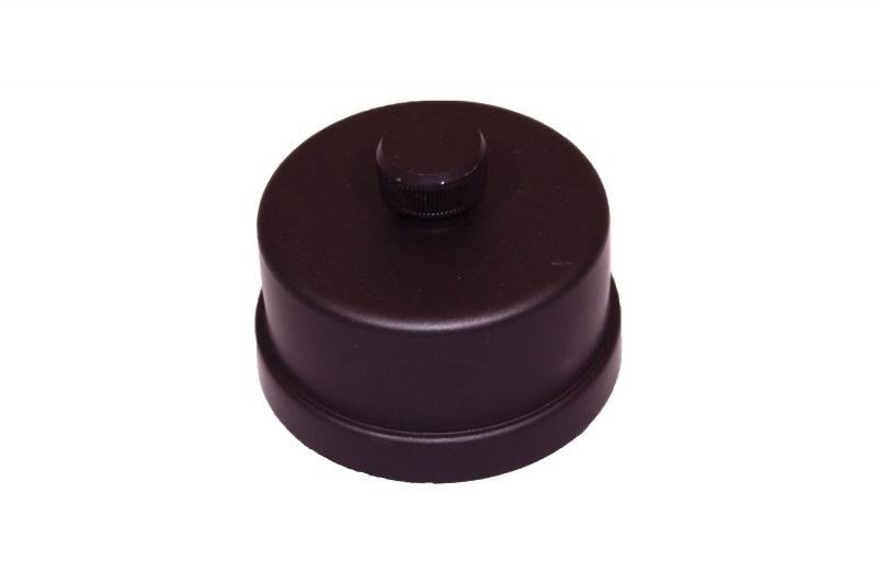 Kondensat-Kappe  Ø 80 mm - schwarz