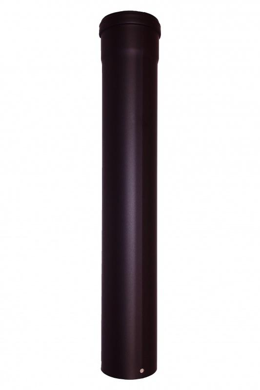 Pelletrohr 500 mm Ø 80 mm - schwarz