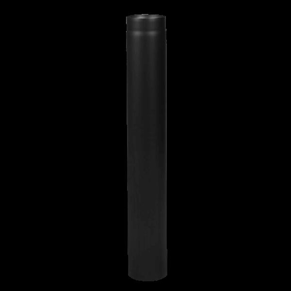 Längenelement 1000 mm Ø 160 - 2 mm Stahl schwarz