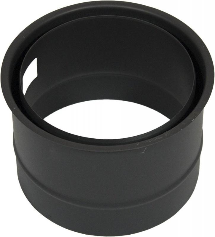 Wandfutter Ø 160 - 2 mm Stahl schwarz