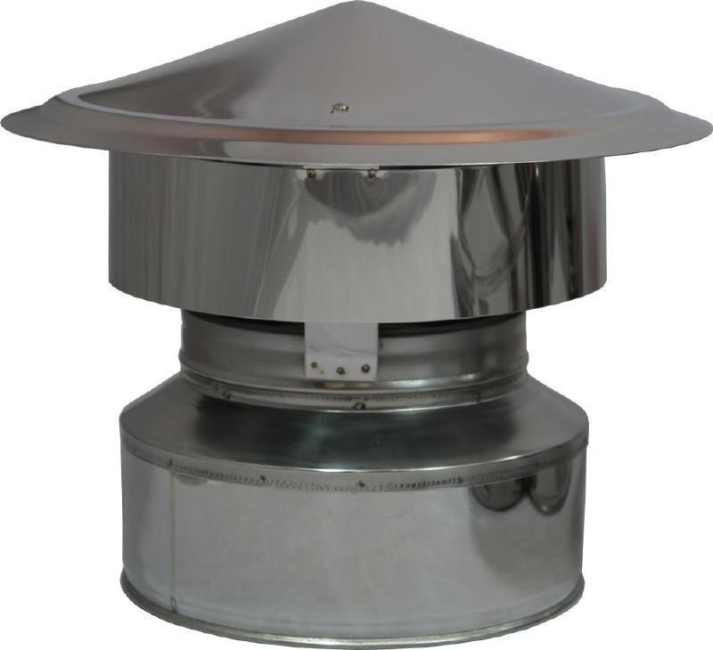 Regenhaube DW Ø 150/200 mm - ISOTUBE Plus