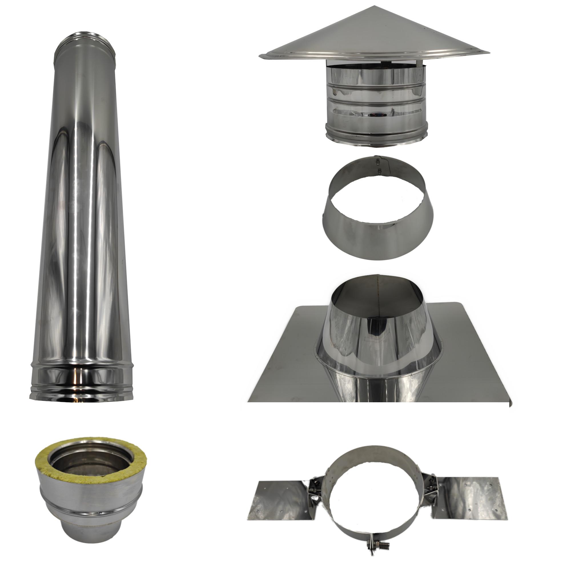Dachdurchführung für Bitumen Flachdach 0-15°