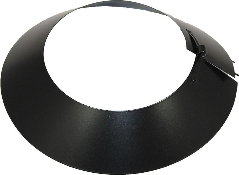 Regenkragen 200 mm schwarz - ISOTUBE Plus