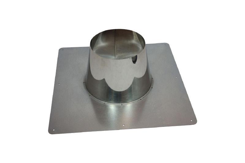 Dachdurchführung 0 - 10° DW Ø 150/200 mm - ISOTUBE Plus