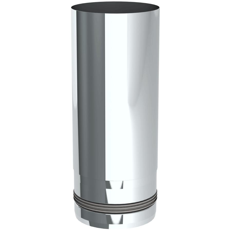 Pelletrohr 250 mm Ø 80 mm - Edelstahl unlackiert