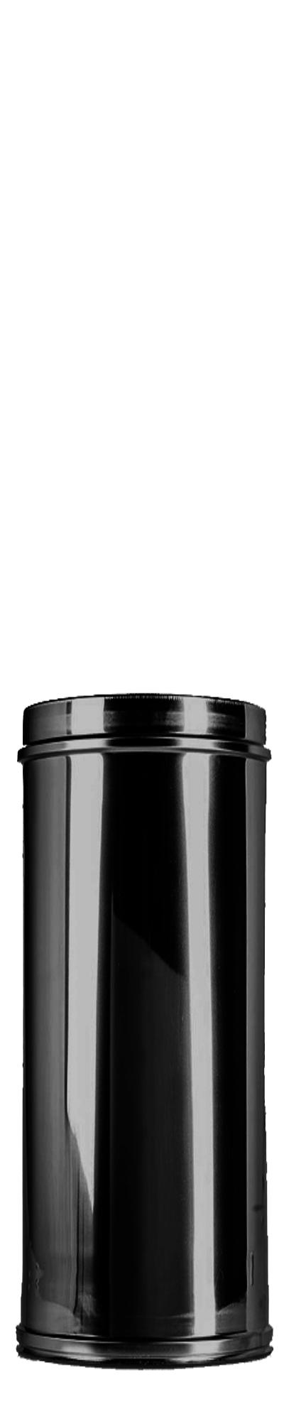 Längenelement 300 mm DW Ø 150/200 mm schwarz - ISOTUBE Plus