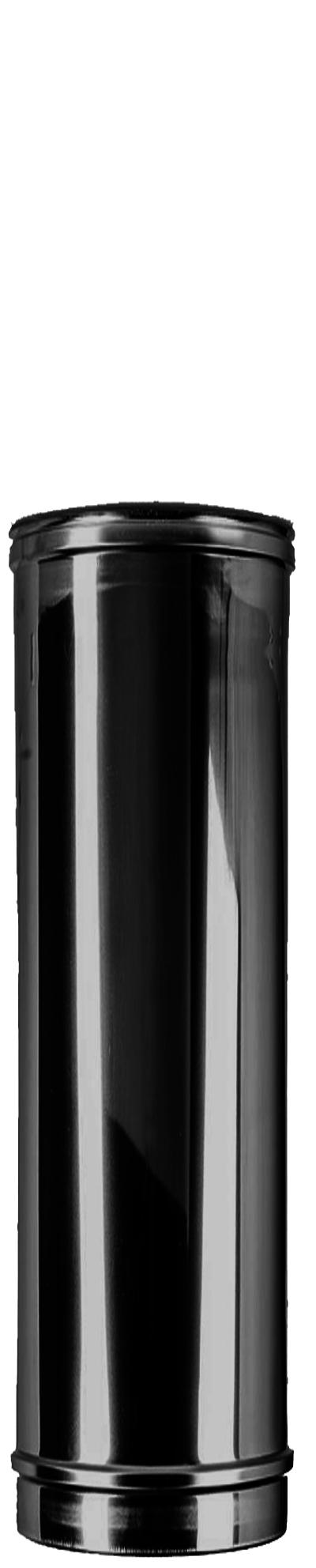 Längenelement 500 mm DW Ø 150/200 mm schwarz - ISOTUBE Plus