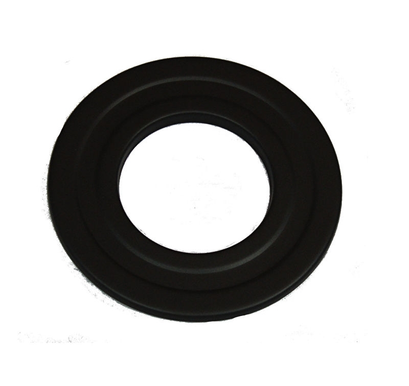 Rosette  Ø 80 mm - schwarz