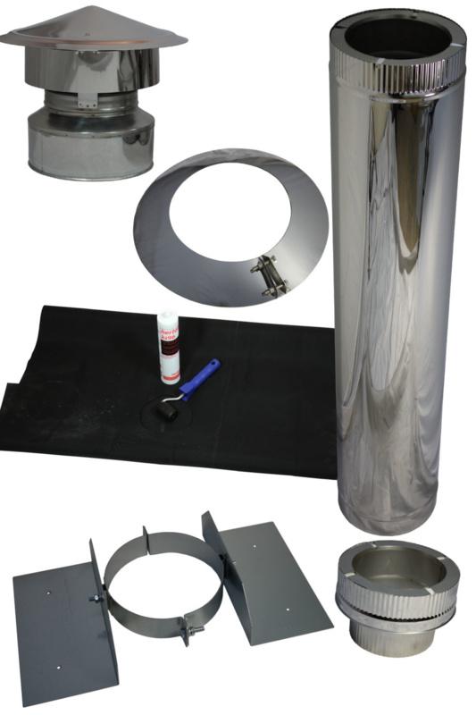 Universal EPDM Dachdurchführung DN 150/200 mm