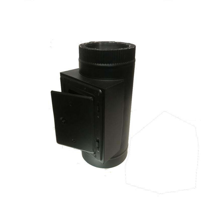Reinigungselement DW Ø 150/200 mm schwarz - ISOTUBE Plus